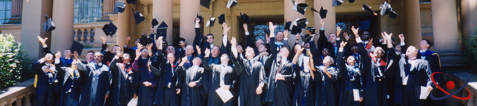 Warnborough graduation in Newcastle, Australia (2000)