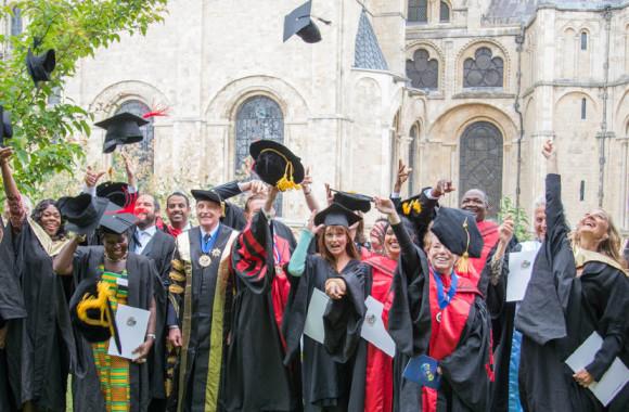 A Warnborough graduation is a happy occasion